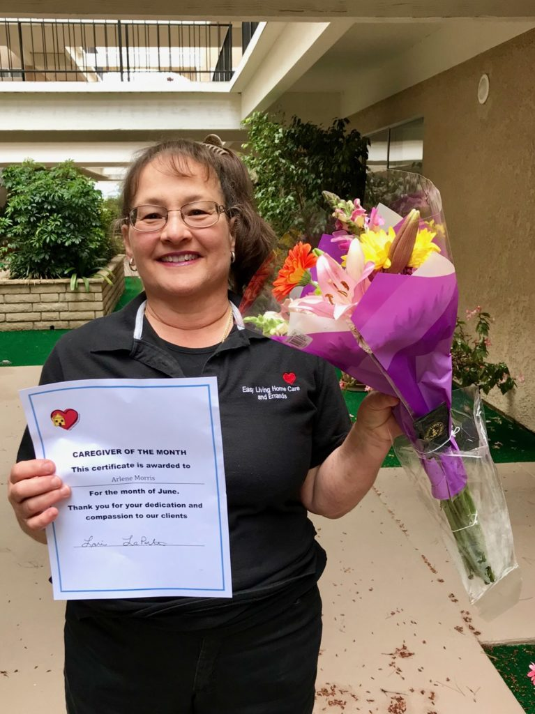 Caregiver of the Month: Arlene Morris