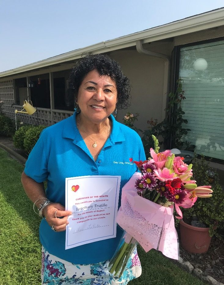 Caregiver of the Month: Rose Mary Trujillo