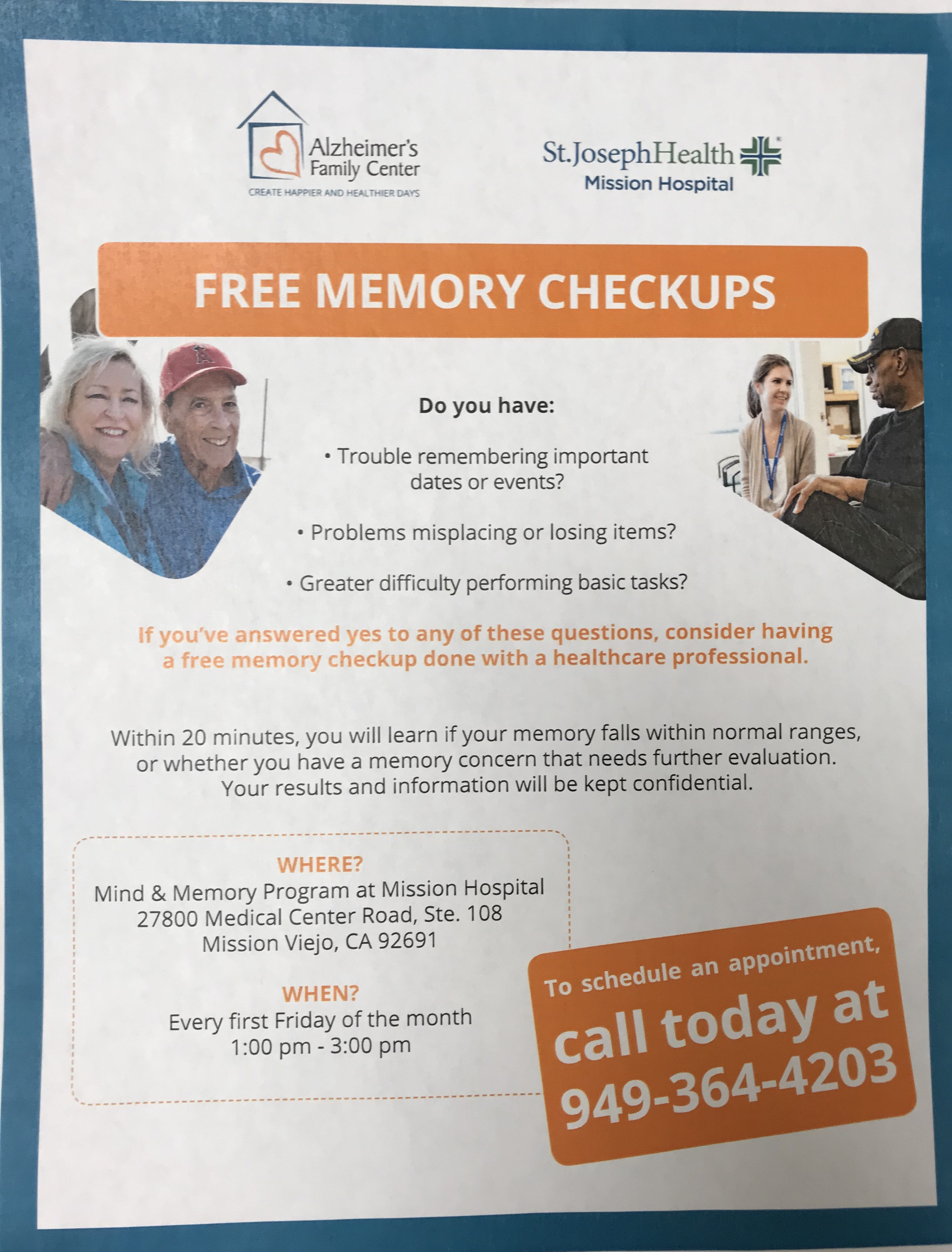 Mind and Memory Program