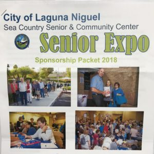Easy Living Home Care Sponsoring Senior Expo in Laguna Niguel